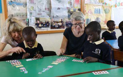 Uta und Ulla führen die Fortbildung in Mathe weiter